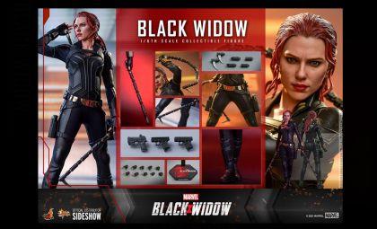 HOT TOYS BLACK WIDOW BLACK WIDOW BANNER