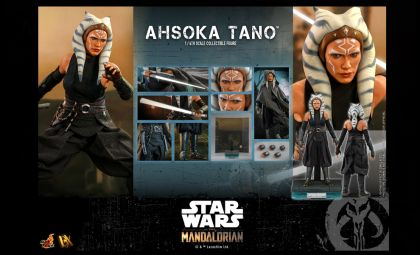HOT TOYS DX20 AHSOKA TANO STAR WARS THE MANDALORIAN BANNER