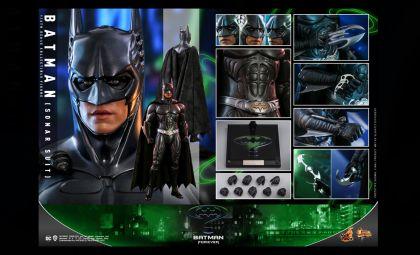 Hot Toys MMS593 Batman Forever Batman Sonar Suit Banner