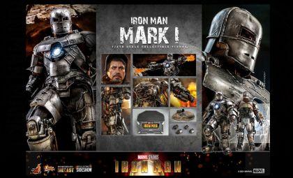 HOT TOYS MMS605D40 IRON MAN IRON MAN MARK I ACTION FIGURE BANNER