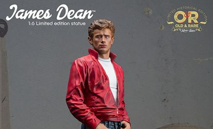 INFINITE STATUE JAMES DEAN 1/6 OLD&RARE RESIN STATUE