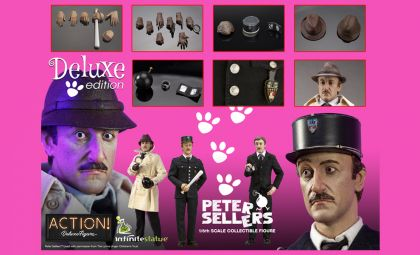 Kaustic Plastik Peter Sellers Deluxe Edition Infinite Statue Version C Banner