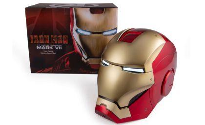 KBMST6003 life size Iron Man MK7 Wearable Helmet Banner