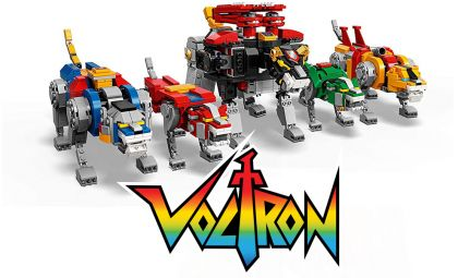 Lego 21311 Ideas VOLTRON New Defender of the Universe banner