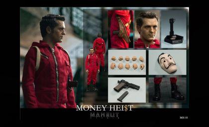 MAXNUT STUDIO MH-01 1/6 MONEY HEIST BERLIN BANNER
