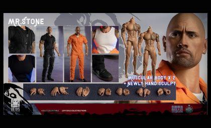 One Toys OT011 MR. STONE Double Body Edition Dwayne Johnson Banner