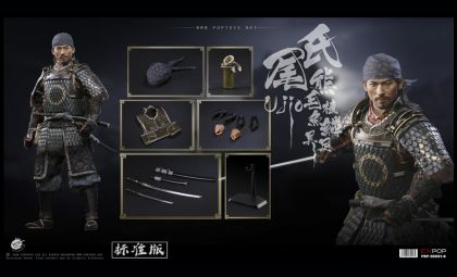 POPTOYS EX031-A Brave Samurai UJIO Hiroyuki Sanada The Last Samurai UJIO Standard Version Banner