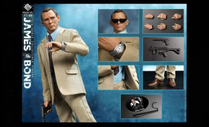 PRESENT TOYS  PT-SP08 1/6  AGENT 007 JAMES BOND Banner