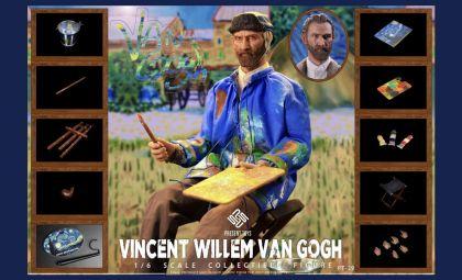 PRESENT TOYS PT-SP29 Vincent Willem van Gogh 1/6 figure Banner