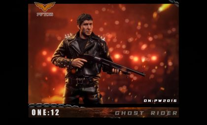 PWTOYS PW2020 Ghost Rider 1/12 knight BANNER