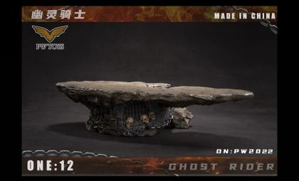 PWTOYS PW2022 Ghost Rider 1/12 Diorama BANNER