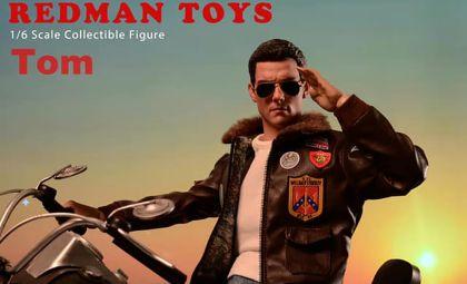 REDMAN TOYS RM055 MAVERICK 1/6 TOM TOP GUN BANNER
