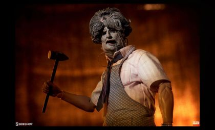 Sideshow Texas Chainsaw Massacre Action Figure 1/6 Leatherface Deluxe Sixth Scale Banner
