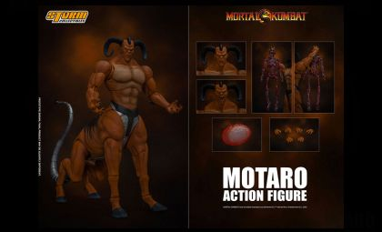 Storm Collectibles Mortal Kombat Action Figure Motaro Banner