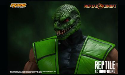 Storm Collectibles Mortal Kombat Reptile 1/12 Action Figure Banner
