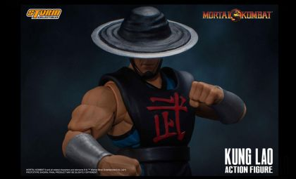 STORM COLLETIBLES Mortal Kombat Action Figure 1/12 Kung Lao Banner