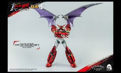 Threezero 3Z0172-MT ROBO-DOU Shin Getter 1 Arranged Design Metallic Edition Metallic color version Banner