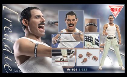 WIN.C Studio Wc-001 B-set Freddie Mercury Queen Banner