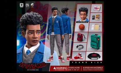 YOUNGRICH TOYS YR015 SPIDER-MAN Parallel Universe Little Spider Myers 3.0 figure BANNER