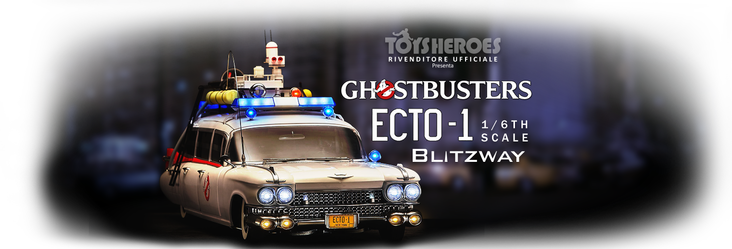 GhostBusters- ECTO-1 - Blitzway - 1/6th scale figures