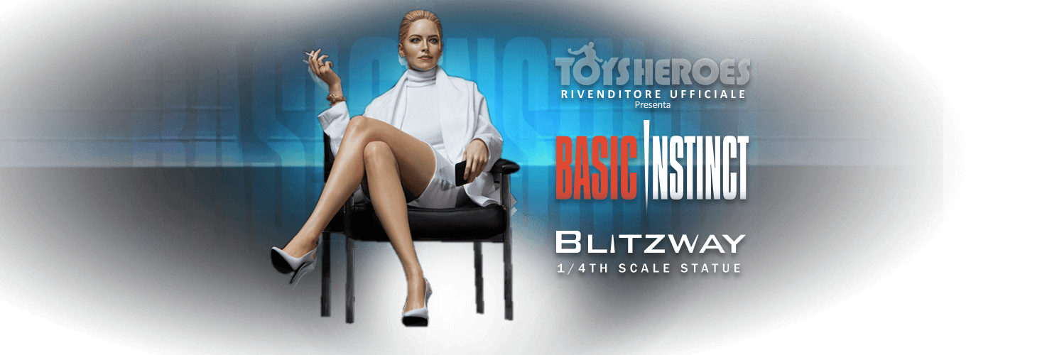 Basic Instinct - Blitzway - 1/4th scale statue